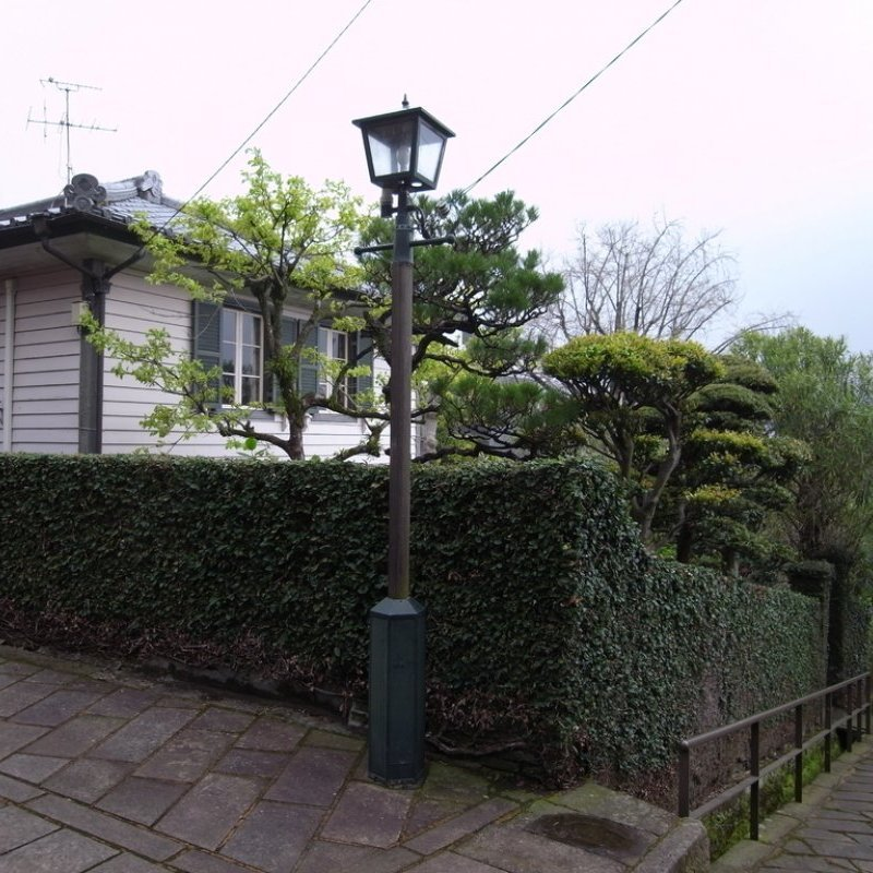 The Preservation District of the Group of Important Traditional Buildings in Nagasaki City's Minami Yamate District