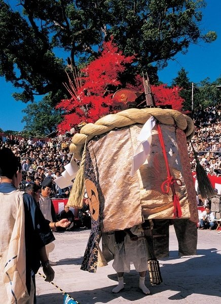 Nagasaki's largest Autumn Festival started in 1634