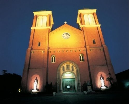 The impressive cathedral built by the persecuted Christians of Urakami