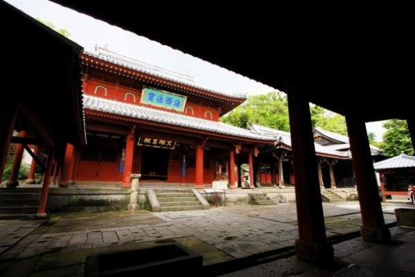 The Chinese Temple that remains a cultural property of Western Japan