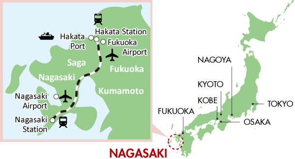 Getting to Nagasaki City